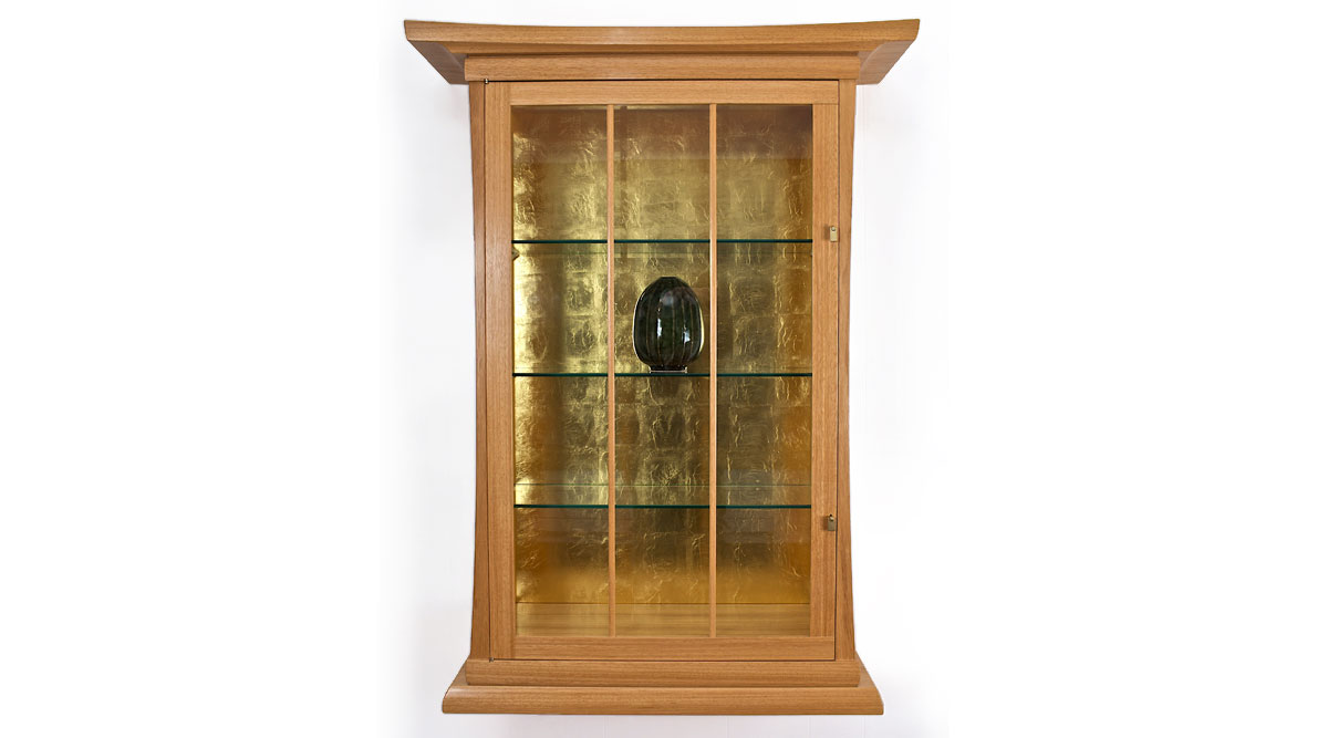 Brother Thomas Wall Cabinet - Jay T. Scott, woodworker