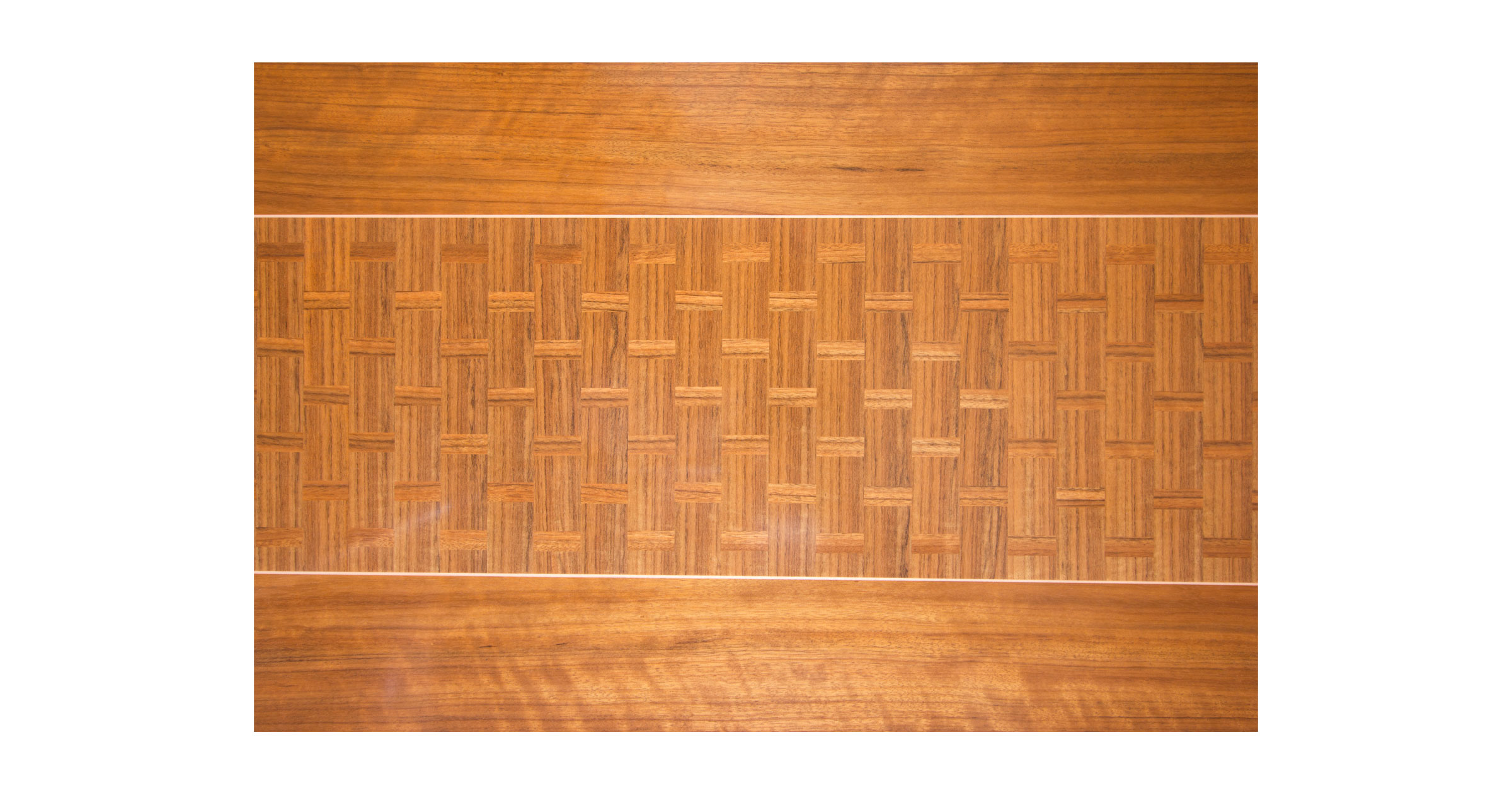Basket Weave Dining Table